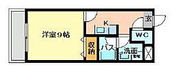グッドシティ下富野[2階]の間取り