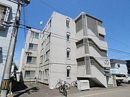 北海道札幌市東区北二十一条東17丁目の賃貸マンションの外観