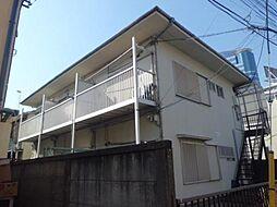 東京都渋谷区初台1丁目の賃貸アパートの外観