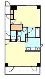 ハーベストヒルズ溝の口I[2階]の間取り