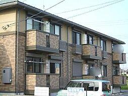 茨城県龍ケ崎市松ケ丘1丁目の賃貸アパートの外観