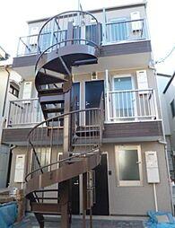 東京都板橋区稲荷台の賃貸アパートの外観