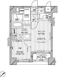 デュオ・スカーラ常盤台[6階]の間取り