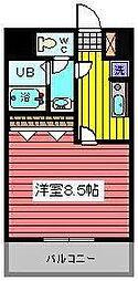埼玉県さいたま市浦和区東仲町の賃貸マンションの間取り