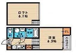 (仮称)旭区今市一丁目・SKHコーポB棟[101号室号室]の間取り