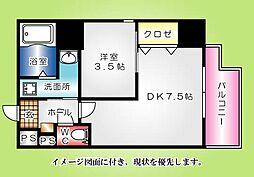 KatayamaBLDG22--[801号室]の間取り