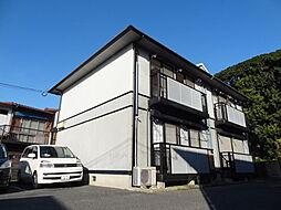 福岡県北九州市小倉北区赤坂2丁目の賃貸アパートの外観