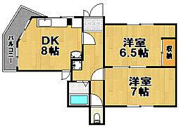 伊藤マンション[1階]の間取り