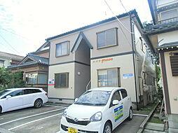新潟県新潟市東区長者町の賃貸アパートの外観