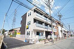 神奈川県川崎市高津区新作4丁目の賃貸アパートの外観