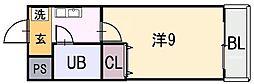 幸宝ビルI[2階]の間取り