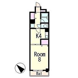 シャムルシャトレ[2階]の間取り