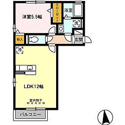 コアロードIII[2階]の間取り