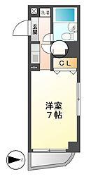 ホワイトヒルズ東桜[7階]の間取り