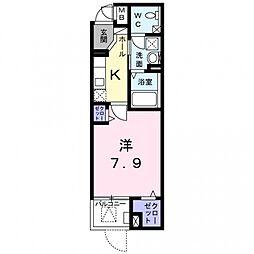 玉櫛2丁目マンション[1階]の間取り