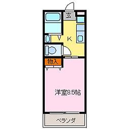 ウイング[2階]の間取り