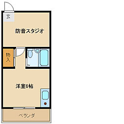 メゾンラルゴ[2階]の間取り