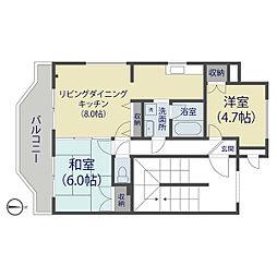 新栄商事ビル[403号室]の間取り