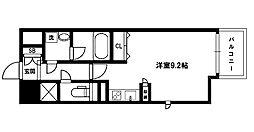 グレンパーク新大阪II[13階]の間取り