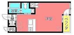 富士グランディール[102号室]の間取り