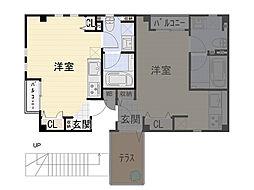 九条南 新築賃貸マンション[101号室]の間取り