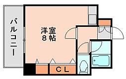 エステート博多駅南ハウス[10階]の間取り