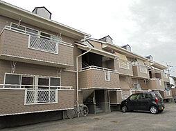 愛媛県松山市和泉南6丁目の賃貸アパートの外観