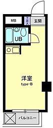 東京都葛飾区柴又4丁目の賃貸マンションの間取り