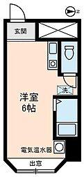 東京都板橋区板橋2丁目の賃貸マンションの間取り