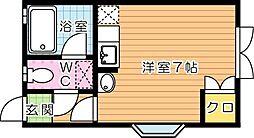 ピサ医生ヶ丘[2階]の間取り