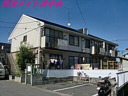 三重県津市久居射場町の賃貸アパートの外観