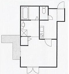 ドレスデンリュー[2階]の間取り