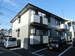 埼玉県三郷市大広戸の賃貸アパートの外観