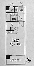 NICEアーバン横濱駅東館[2階]の間取り