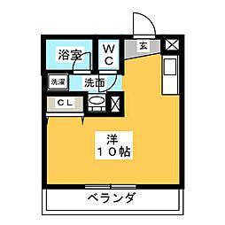 RISE[3階]の間取り