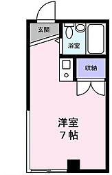 ベルデ大宮 生活保護受給者支援賃貸マンション[B406号室号室]の間取り