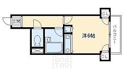 パインフィールド御所[3階]の間取り