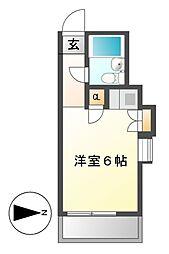 レンガ家ビル[4階]の間取り