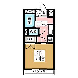 KYハウス[2階]の間取り