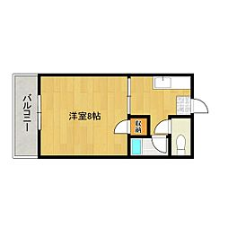 第2サンシャインビル[6階]の間取り