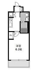 レジュールアッシュ北大阪GRAND STAGE[11階]の間取り