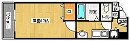 「エイペックス京都御所北I」[2階]の間取り