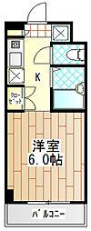 神奈川県伊勢原市桜台1丁目の賃貸マンションの間取り