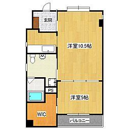 DODO HOUSE[202号室]の間取り