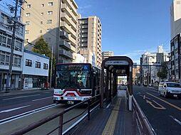 バス停(山口町)