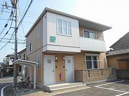 愛媛県松山市久保田町の賃貸アパートの外観