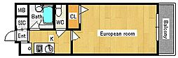 シャトレ−ベ−ルII[106号室]の間取り