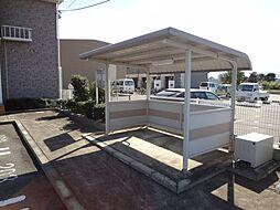 三重県松阪市甚目町の賃貸アパートの外観