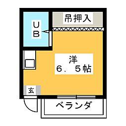 新守山カジウラ[2階]の間取り