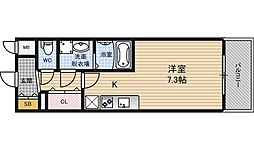 エスリード梅田西第5[3階]の間取り